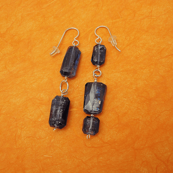Steel and stone collection earrings sapphire studio for Sapphire studios jewelry reviews