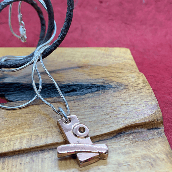 Industrial Revolution collection necklace in Copper