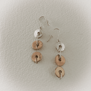 3 Disks Earrings