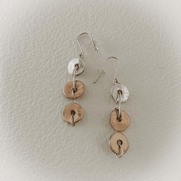 3 Disks Earrings