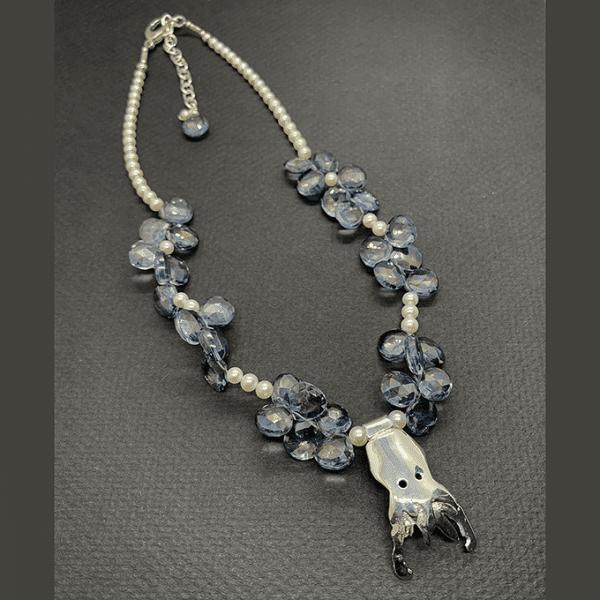 Octopus Necklace Quartz