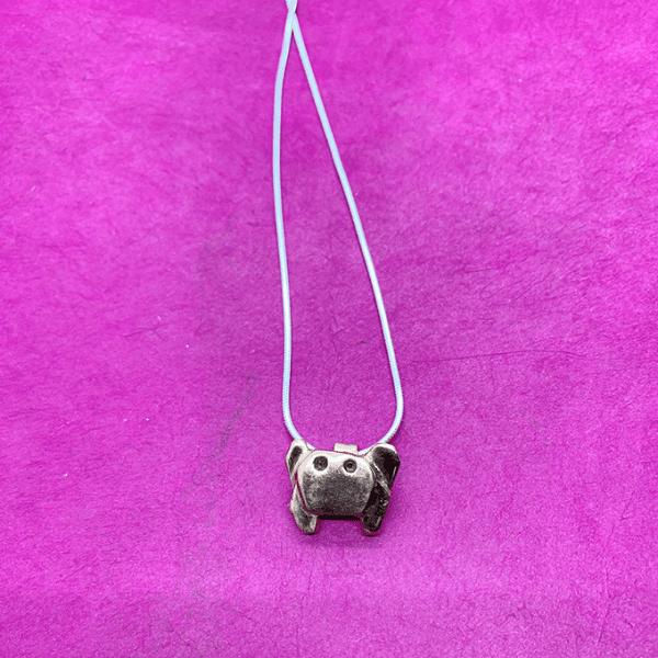 Crab origami Necklace , Copper