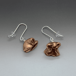 Flora Copper Earrings