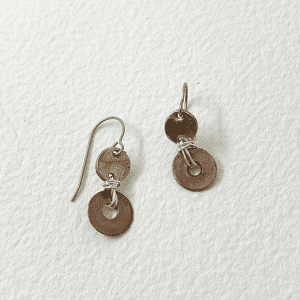 Disk Duo Earrings