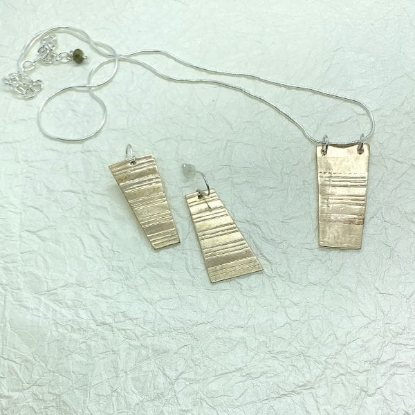 Rectangular Jewelry Set