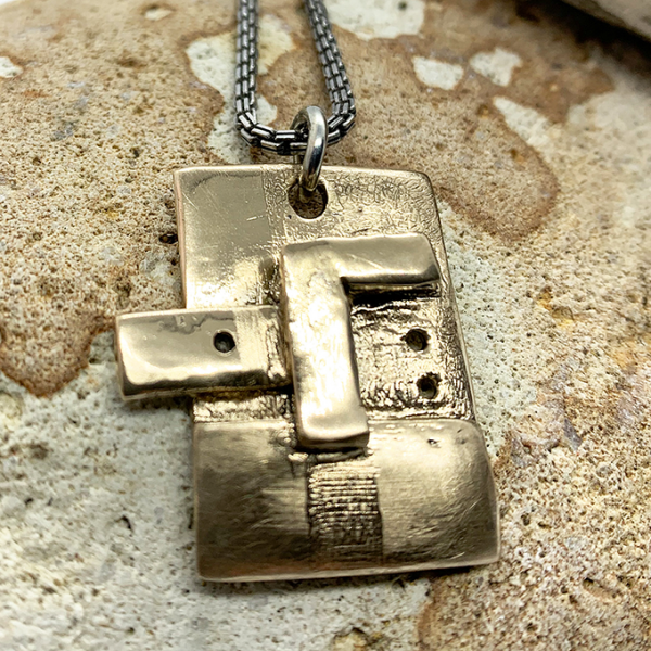 Industrial Revolution Collection Bronze Pendant