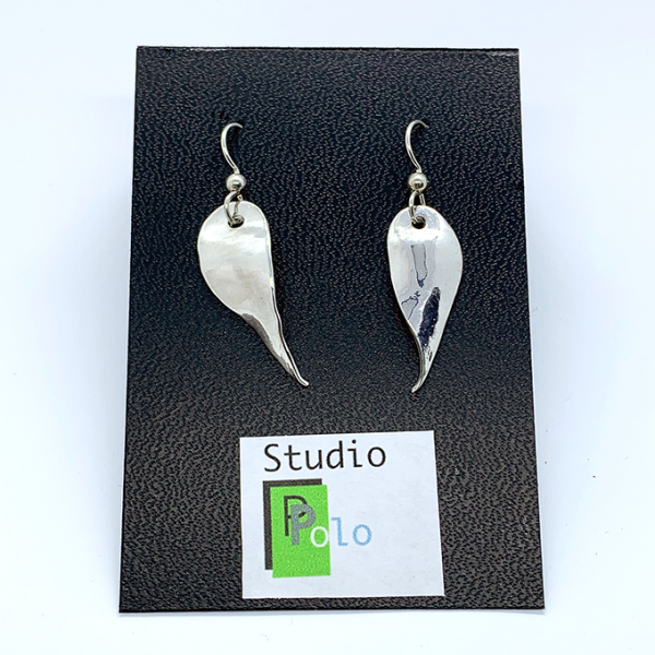 3001E leaf collection earrings
